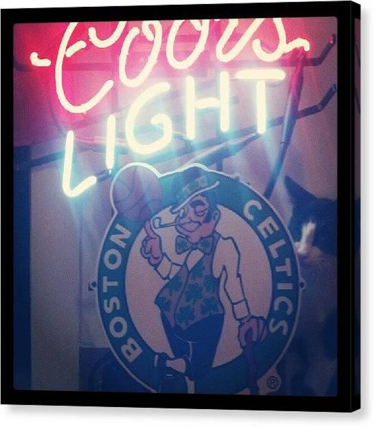 Presents Canvas Print - Newneonlight!! #neonlight #presents by Cori Pishkin