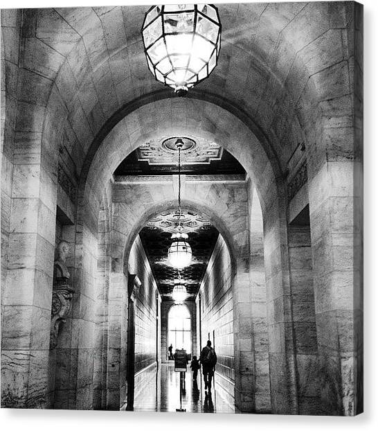 Libraries Canvas Print - #newyork Public #library . #nypl by Mimi L