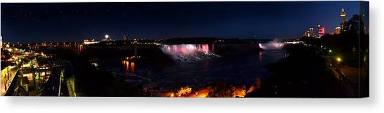 Niagara Falls Panoramic Canvas Print