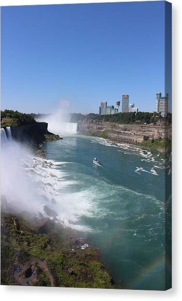 Niagara Falls Canvas Print by Vinod Reddy