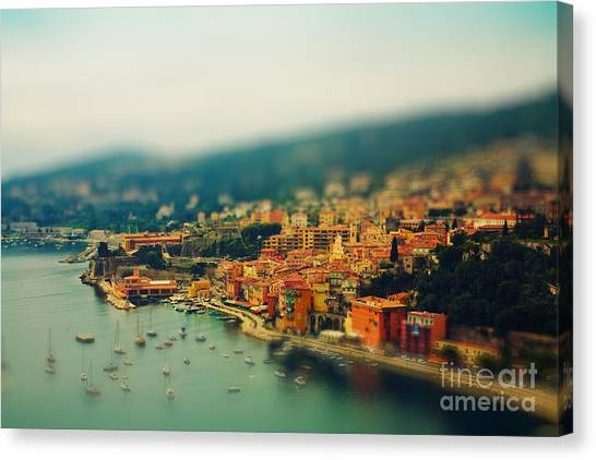 Nice Coast, France Canvas Print