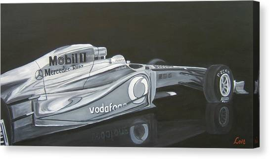 Night Race Canvas Print