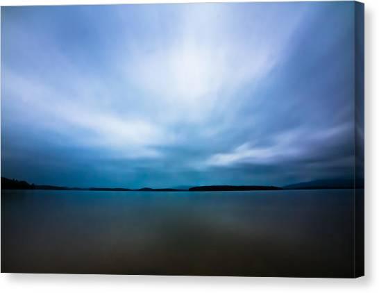 Nightfall On The Lake II Canvas Print