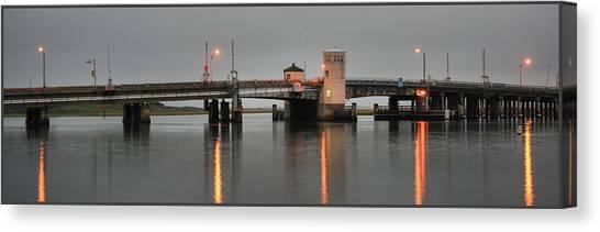 Ninth Street Bridge Ocean City Nj Canvas Print