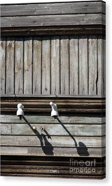 No Electricity Canvas Print