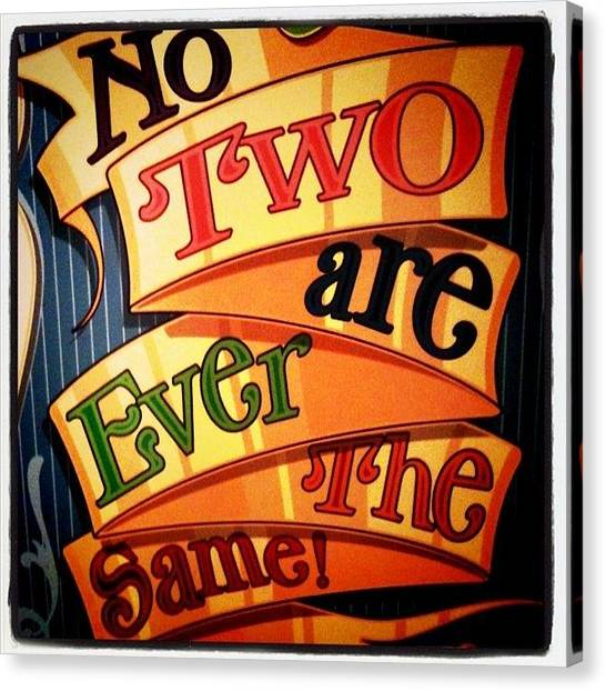 Gamer Canvas Print - No Two Are Ever The Same by Jaye Howard