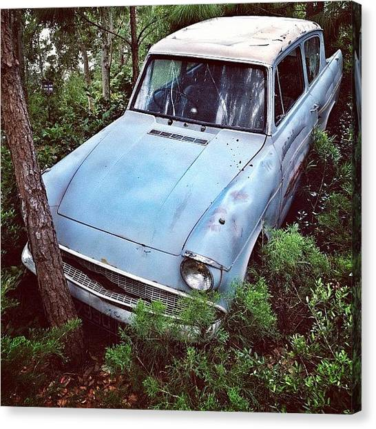 Ford Canvas Print - No Way Out by Tobrook Eric gagnon
