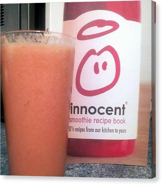 Innocent Canvas Print - No.1 Recipe Book #recipe #book by Paul Petey