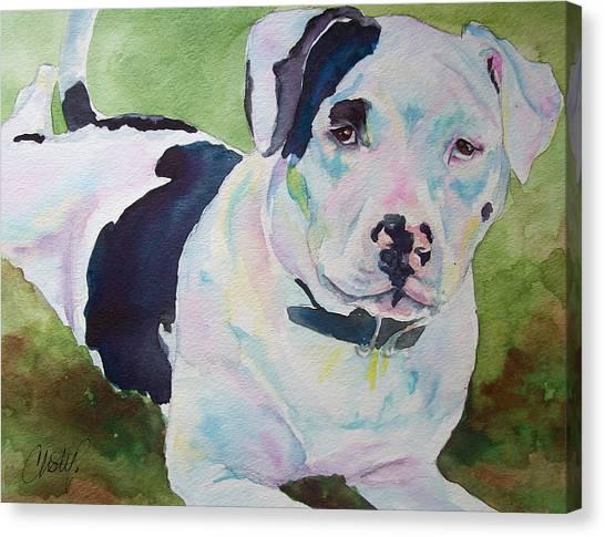 Noelle Lilos Promise Canvas Print