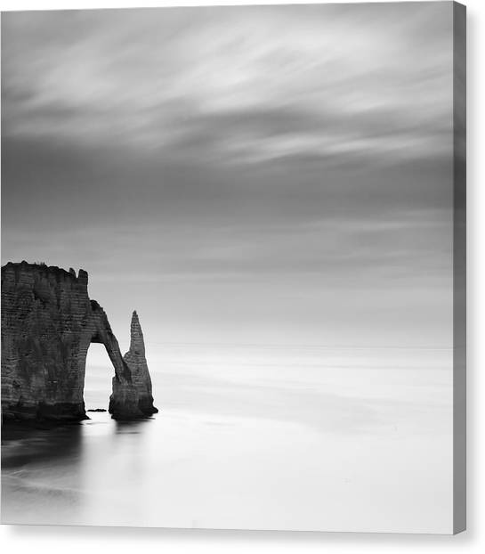 Etretat Canvas Print - Normandy Etretat by Nina Papiorek