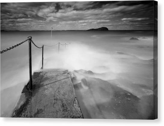 North Berwick Harbour Canvas Print by Keith Thorburn LRPS AFIAP CPAGB