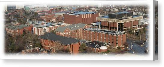 Illinois State University Canvas Print - North Campus by Abraham Adams Photography