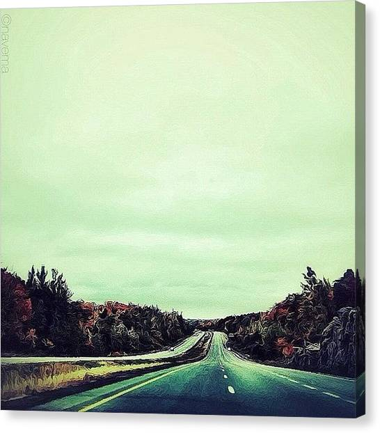 Ontario Canvas Print - Northbound by Natasha Marco