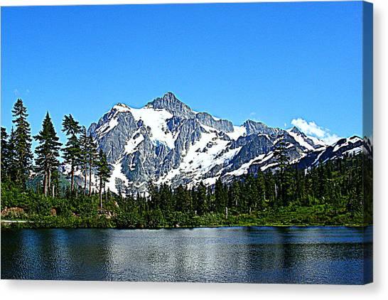 Northern Cascades Canvas Print