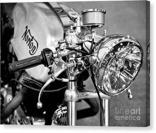 Norton Dominator Canvas Print
