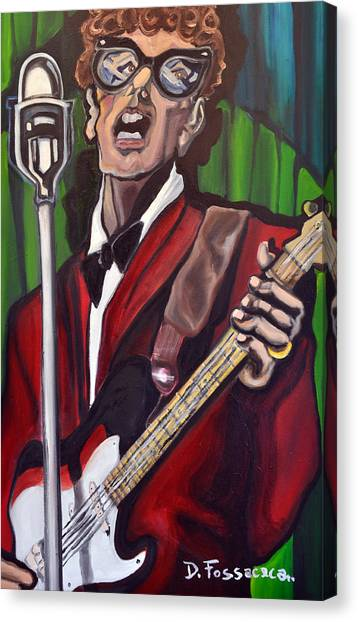 Not Fade Away-buddy Holly Canvas Print