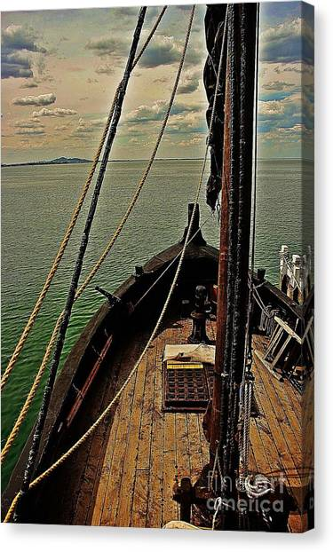 Notorious The Pirate Ship 6 Canvas Print