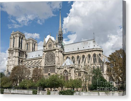 Notre-dame-de-paris I Canvas Print by Fabrizio Ruggeri