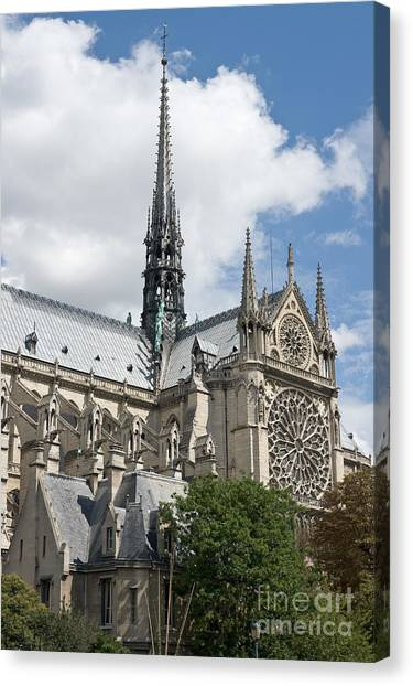 Notre-dame-de-paris IIi Canvas Print by Fabrizio Ruggeri