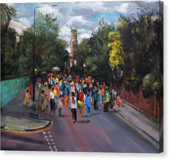 Notting Hill Carnival Canvas Print by Edward Ofosu