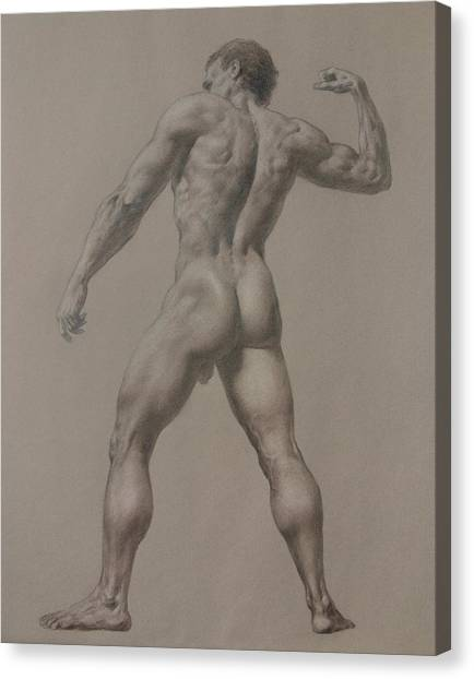 Nude-8 Canvas Print