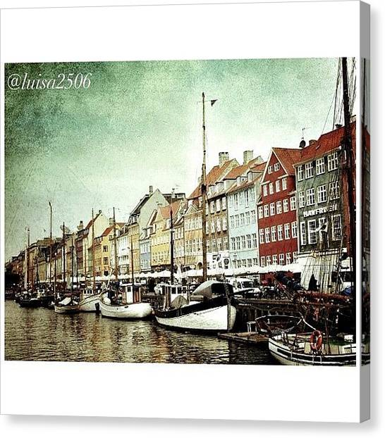 Cool Canvas Print - Nyhavn by Luisa Azzolini