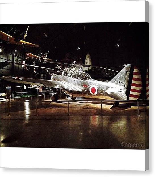 Ohio Canvas Print - O-47b Observation Aircraft by Natasha Marco