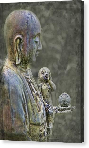 O-jizo-sama  Canvas Print by Karen Walzer