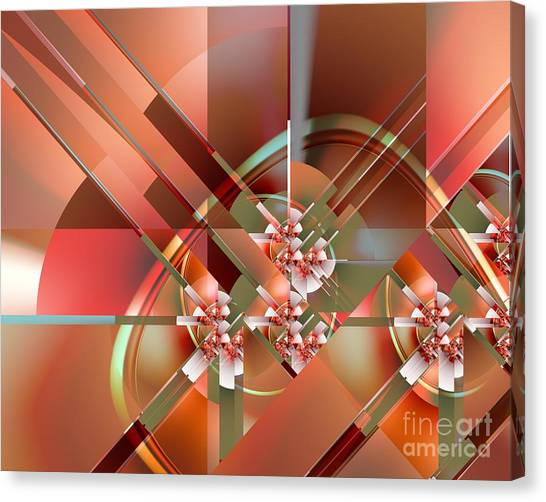 Objet Dart Three Canvas Print