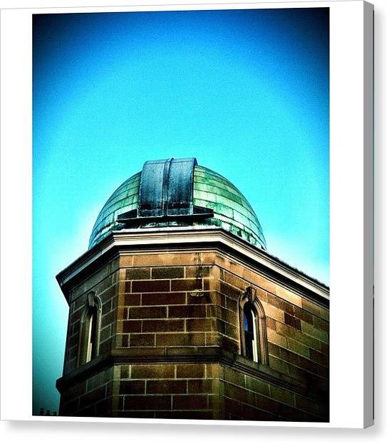 Saints Canvas Print - Observe #instameetsydneymay2012 by Kendall Saint