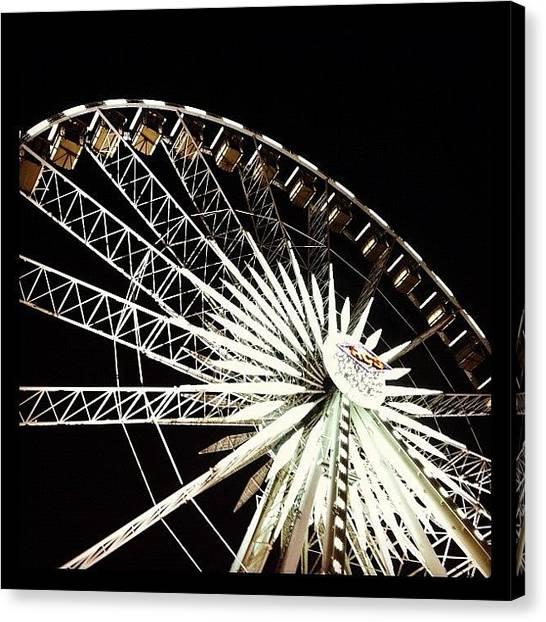 Soda Canvas Print - Oc Fair Ferrys Wheel by Soda Love