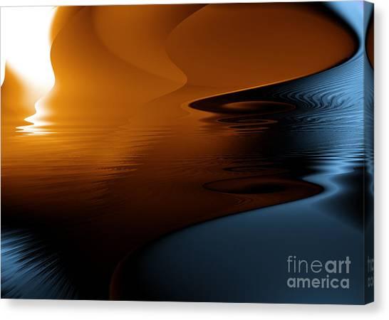 Ocean Byzarre Canvas Print