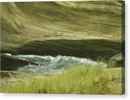 Ocean Dunes Canvas Print
