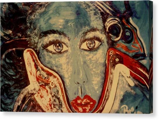 Ocean Goddess Canvas Print