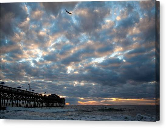 Ocean Morning Canvas Print