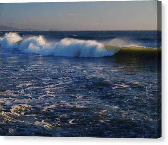 Ocean Of The God Series Canvas Print