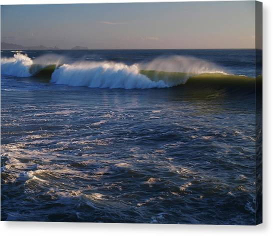 Ocean Of The Gods Series Canvas Print