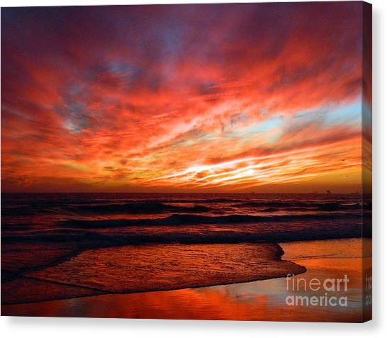 October Evenings Canvas Print