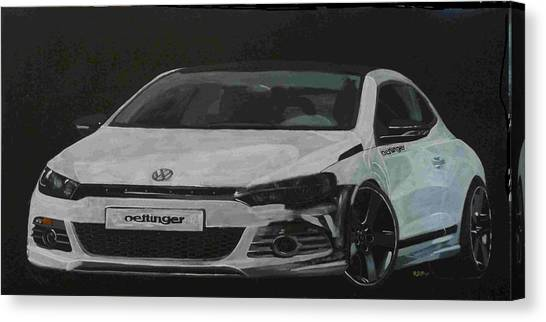 Oettinger Vw Scirocco  Canvas Print