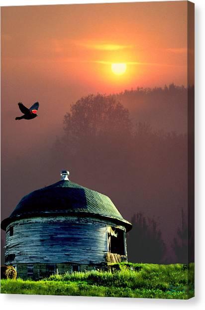 Of Setting Suns Canvas Print
