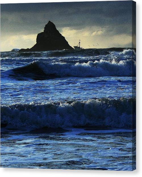 Off Arch Cape Canvas Print