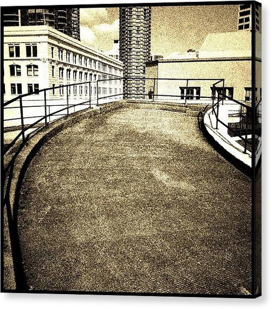 Seattle Canvas Print - Off Ramp by T Catonpremise