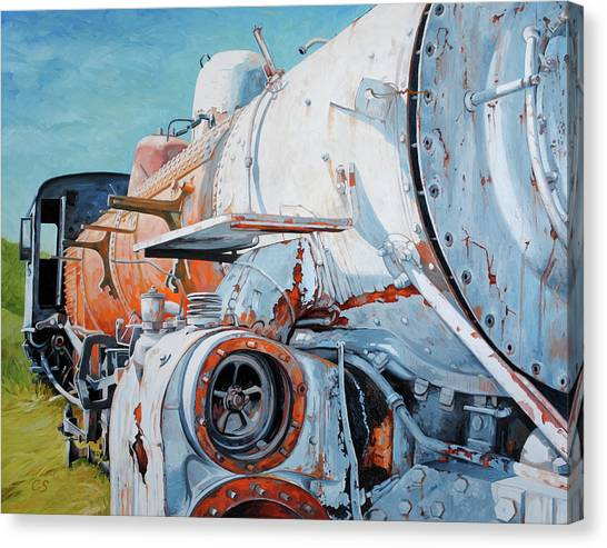 Off Track Canvas Print