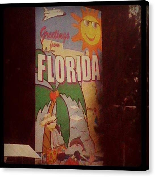 Farmers Canvas Print - Oh Hello Sunshine State! by Katie Farmer