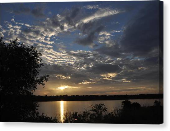 Oklahoma Lake Canvas Print