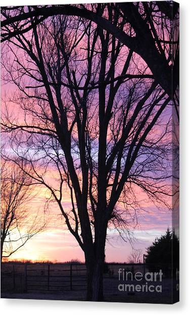 Oklahoma Sunset 1 Canvas Print