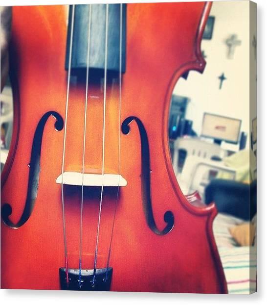 Violins Canvas Print - #olazaran #andreego #music #viola by Andree Olazaran