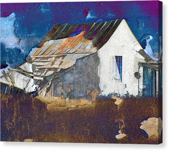 Old Village Canvas Print