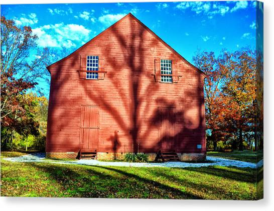 Old Christ Church Canvas Print by Kelly Reber