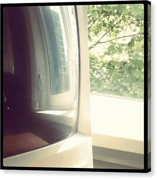 Offices Canvas Print - Old Computer View. (: #window #computer by Orange Fox